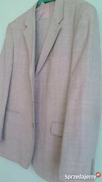 c8ec6a59b213d marynarka kamizelka spodnie garnitur komplet Odzież codzienna Kielce  sprzedam