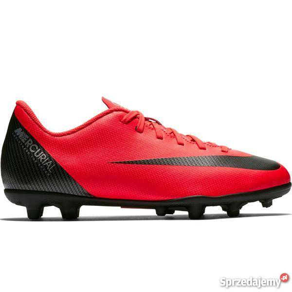 c1a6e24604dd5 Buty piłkarskie Nike Mercurial Vapor 12 Club GS CR7 FG MG JR ...