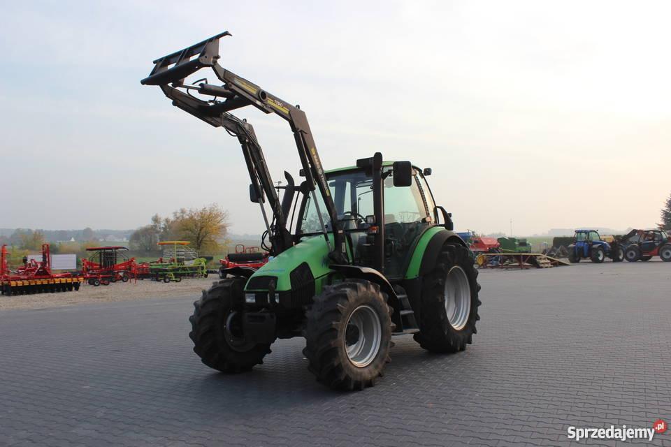 Ciągnik rolniczy Deutz Fahr Agrotron 85 z