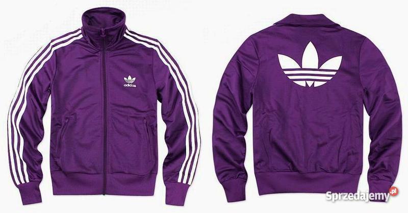 Bluza Adidas fioletowa