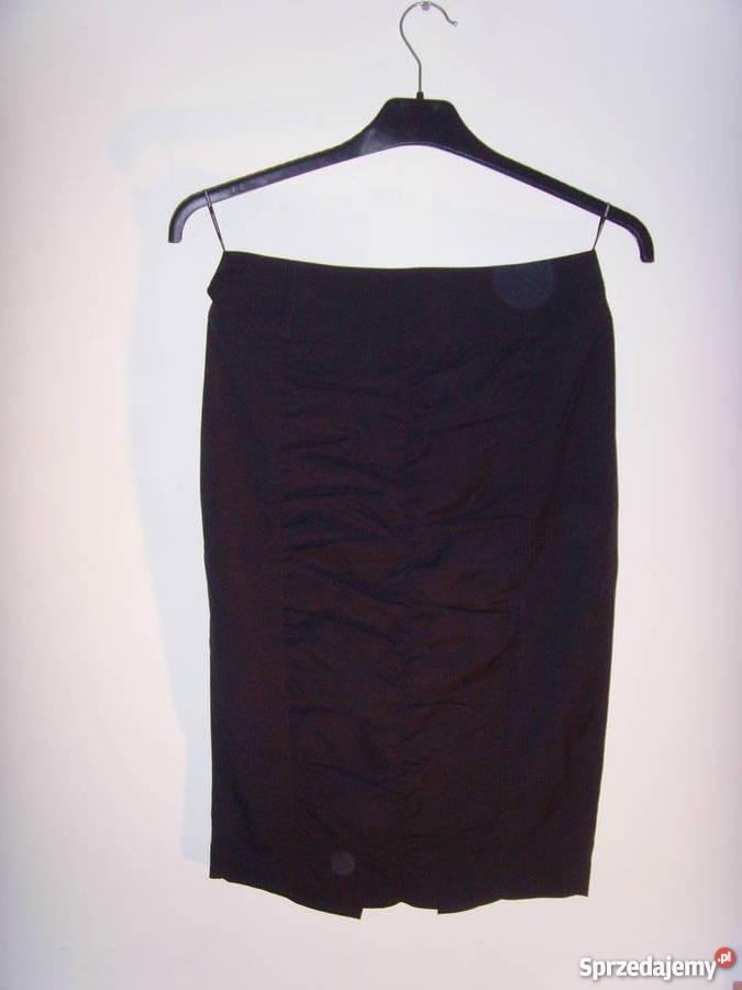 Czarna spódnica ołówkowa Reserved rozmiar 38