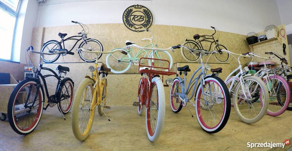 Rowery rower Cruiser RoyalBi NOWE 26 electra Miejskie Toruń sprzedam