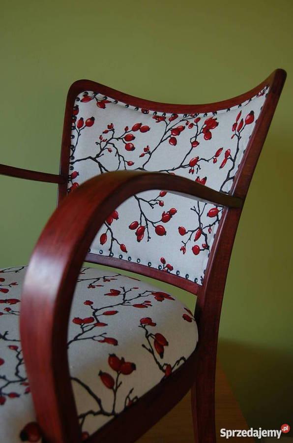 stary fotel art deco po renowacji �243dź sprzedajemypl