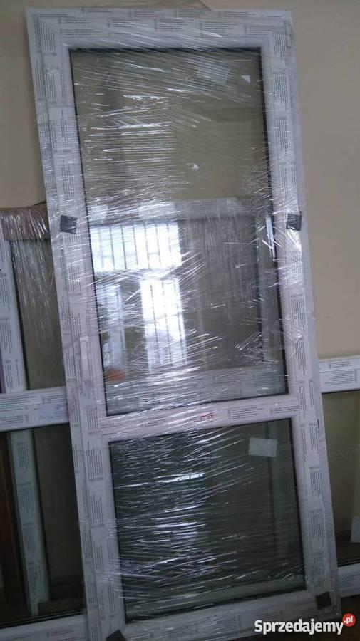 Promocja Nowe Okna Pcv Drzwi Balkonowe 860x2080 Rozw Gratis
