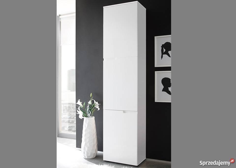 SELENE 13- nowoczesna szafka wysoka z potrójnymi drzwiami