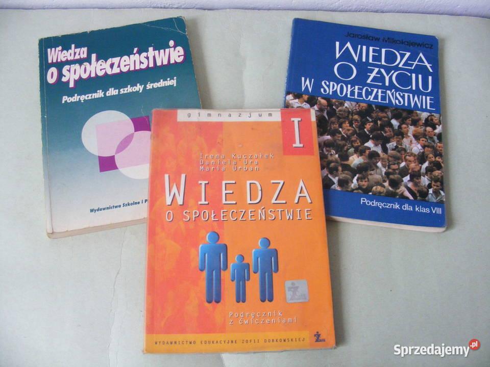 3 x Wiedza o społeczeństwie Wojtaszczyk Ura Mikołajewicz