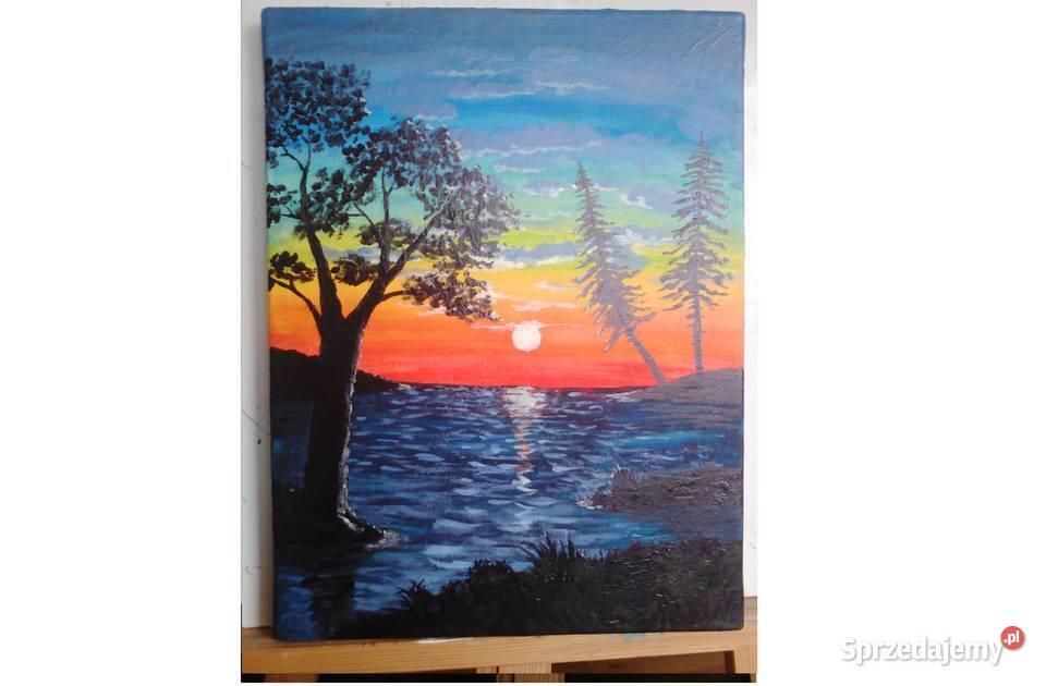 Obraz farby akrylowe  na płótnie 30x40 cm