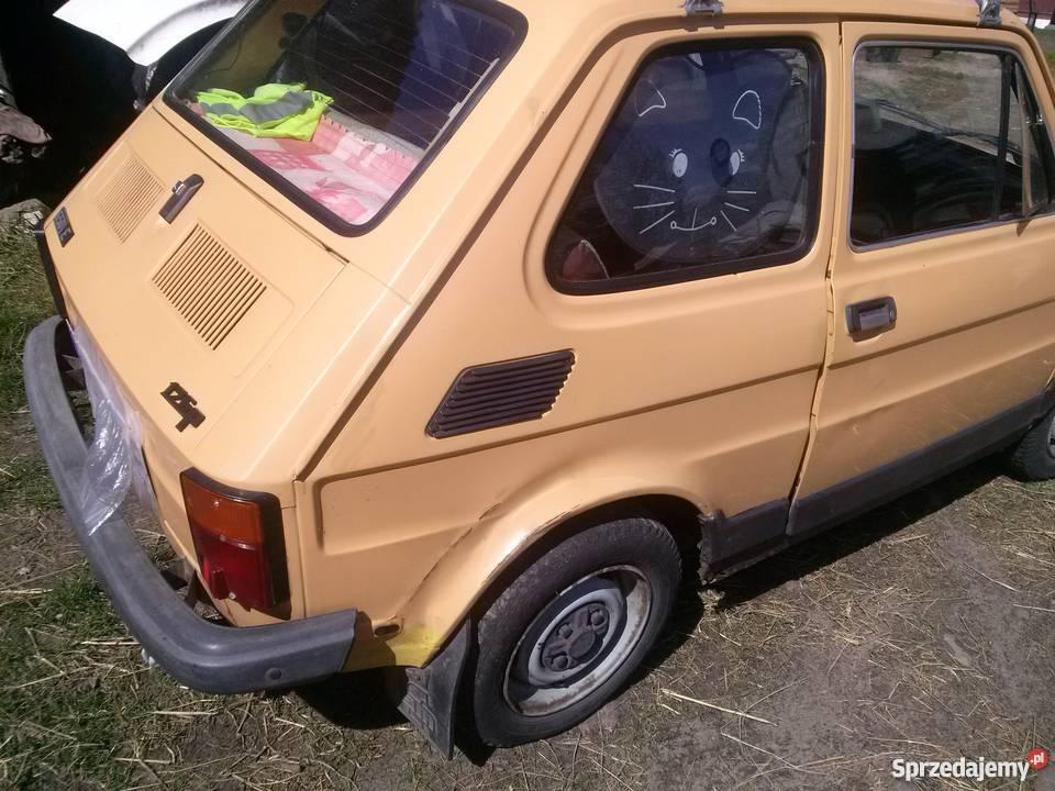 Sprzedam szybkiego malucha żółty Samochody osobowe Biała Podlaska