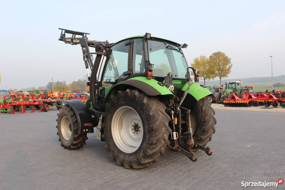 Ciągnik rolniczy Deutz Fahr Agrotron 85 z podlaskie Sokoły