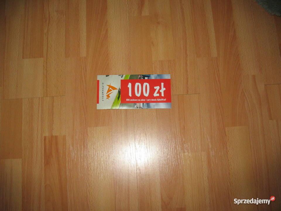 Bon 100 na zakup obuwia AlphaWoolf Chorzów