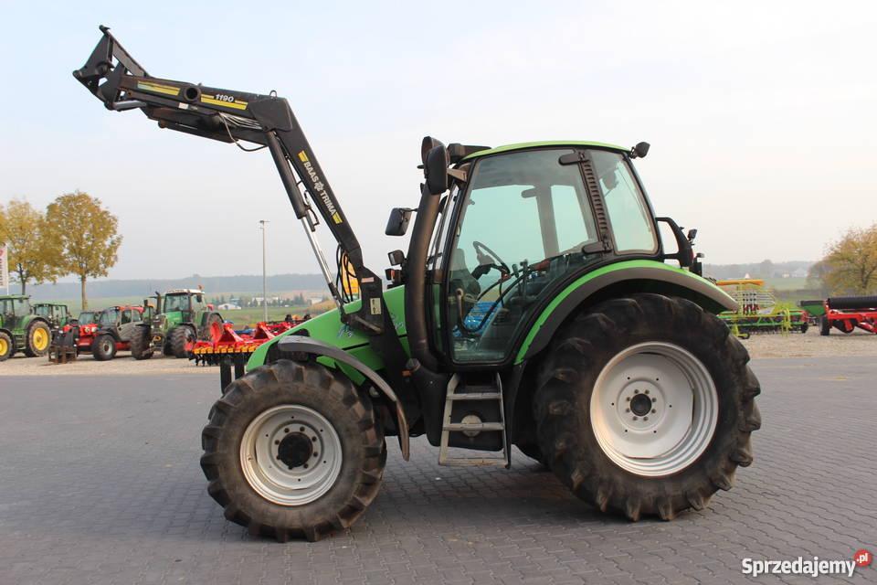 Ciągnik rolniczy Deutz Fahr Agrotron 85 z Zaczep dolny