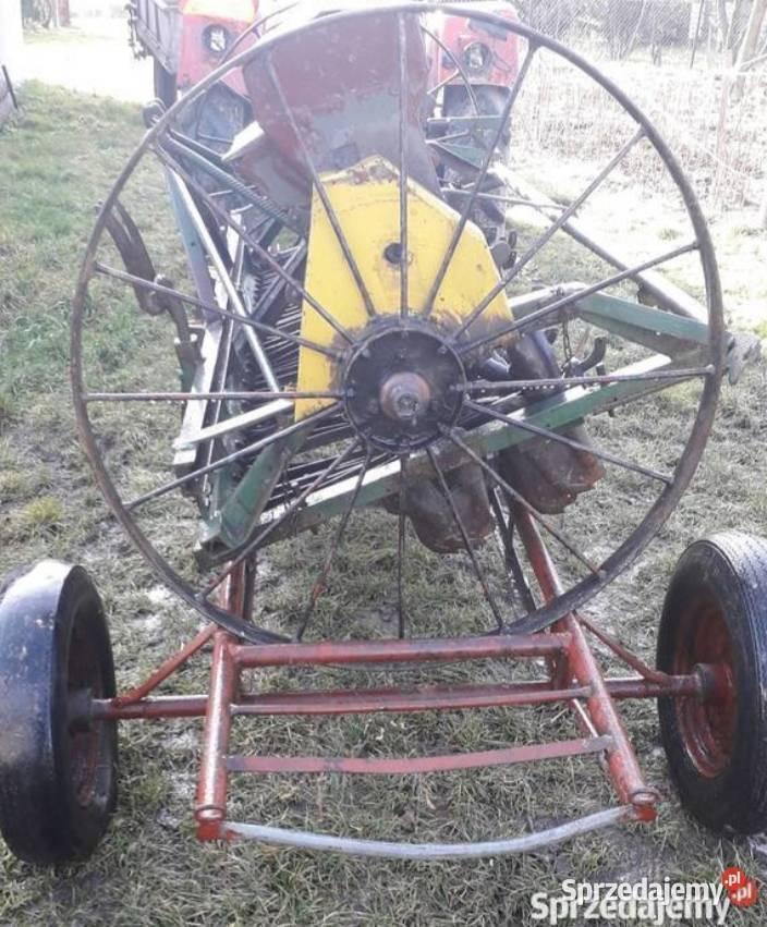 Wózek pod siewnik przyczepa jednoosiowa platforma sadownicza