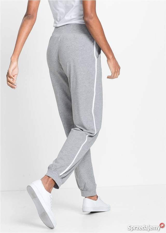 B.p.c. spodnie dresowe z gumką w pasie 4446.