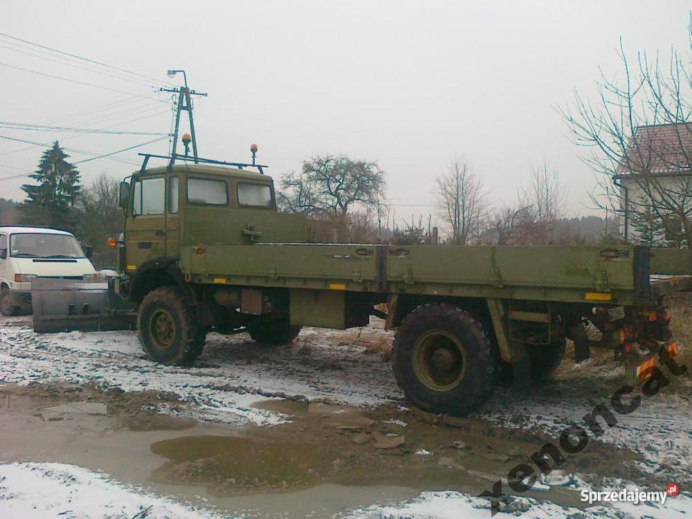 Iveco Magirus 4X4 Wszędołaz piaskarka pług zachodniopomorskie Koszalin