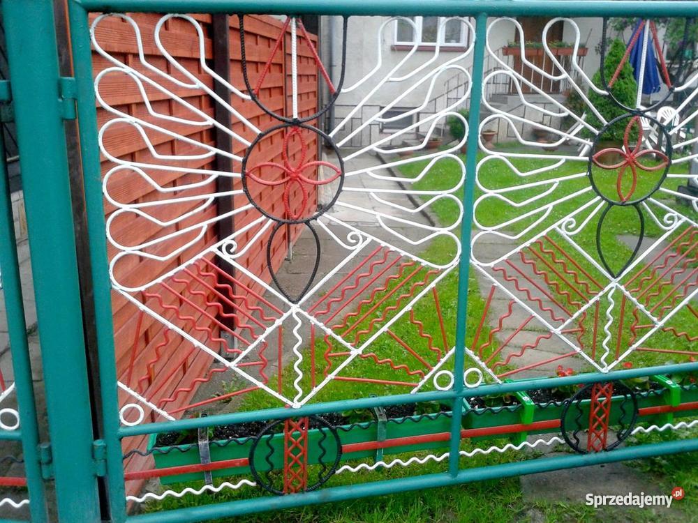 bramę wjazdową Rabka-Zdrój