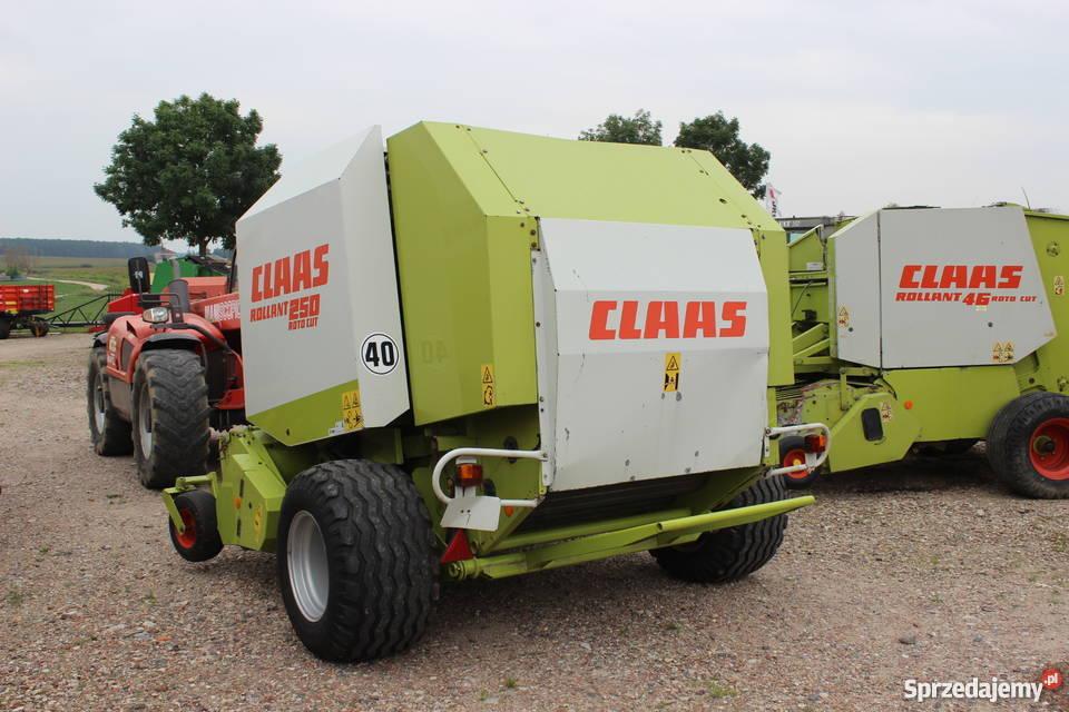Prasa stałokomorowa Claas Rollant 250 RC Super Sokoły