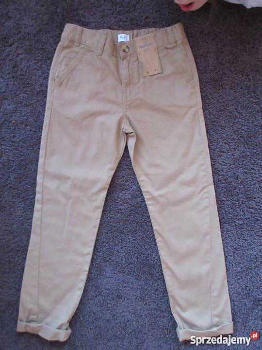 Eleganckie spodnie F&F na 7 8 lat NOWE
