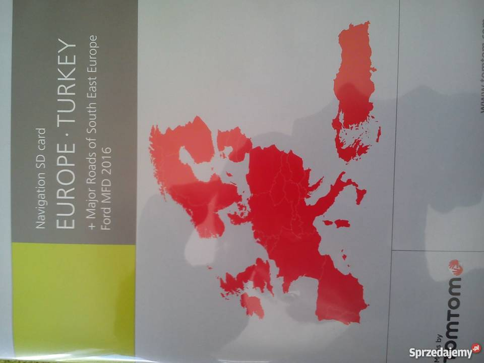 Sprzedam Karte Sd Z Mapa Europy Do Forda Focusa Gdansk