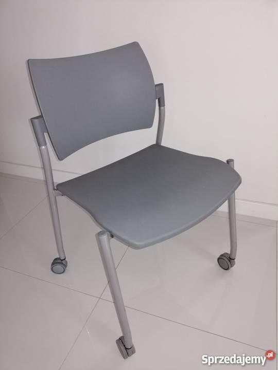 krzesło biurowe plastikowe
