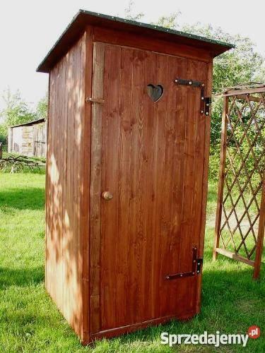 Ogromny toaleta na działce ogrodowej - Sprzedajemy.pl HC61