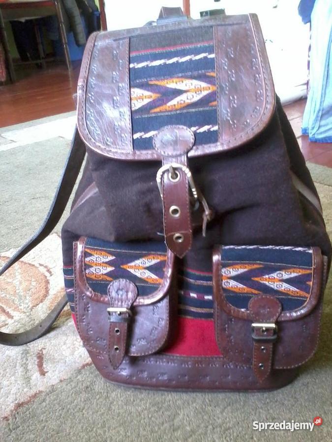 a03cb84488170 Plecak Vintage - Sprzedajemy.pl