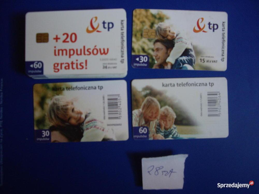 Karty telefoniczne chipowe Lubliniec sprzedam