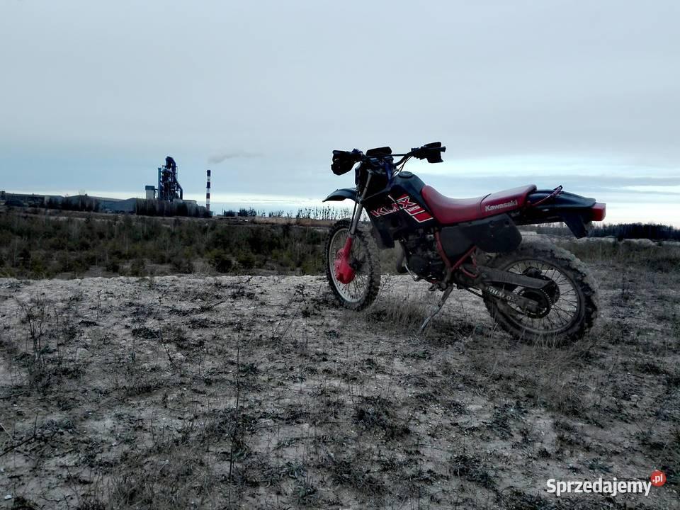 Kawasaki kdx 125 2t 2000r sprzedam lub zamienię Kopytowa