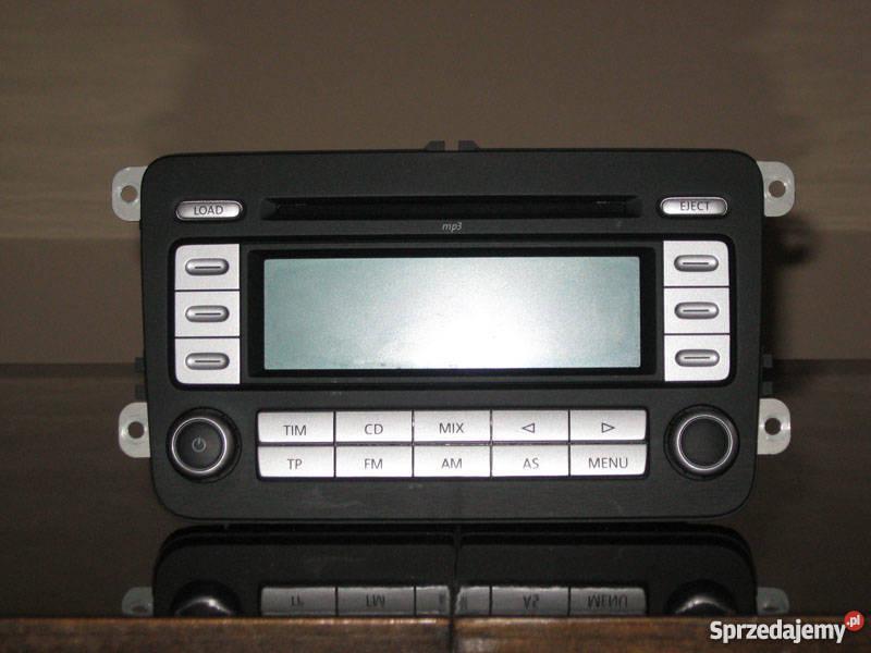 Chwalebne Radio Vw RCD300 mp3 Golf V Passat B6 Touran Jetta Passat Piekoszów GR21