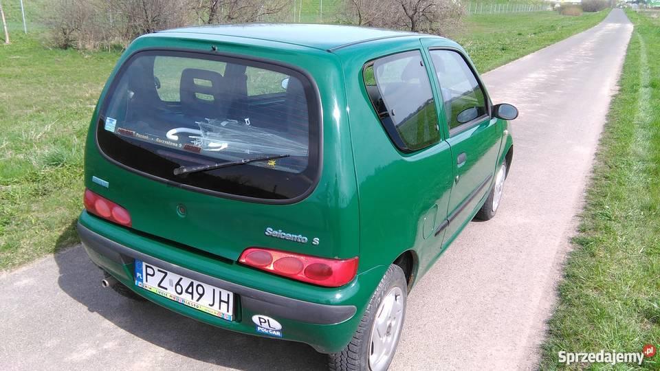 Fiat seicento 11 benzyna wielkopolskie Poznań