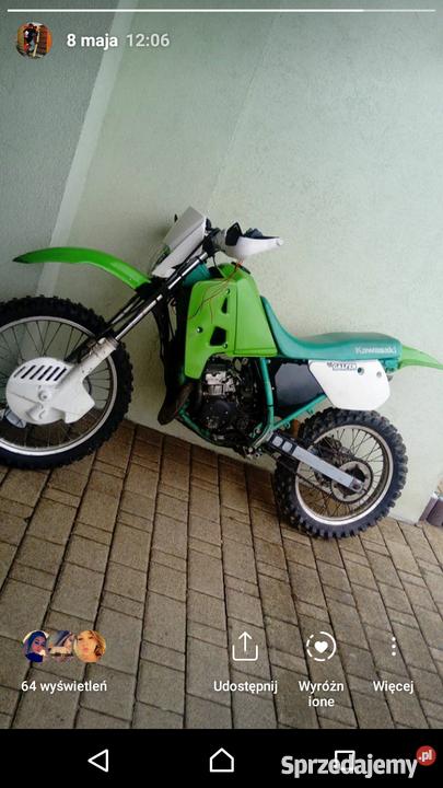 Kawasaki kmx 125 2t ( dt rm cr kx yz ) Chełm - Sprzedajemy.pl
