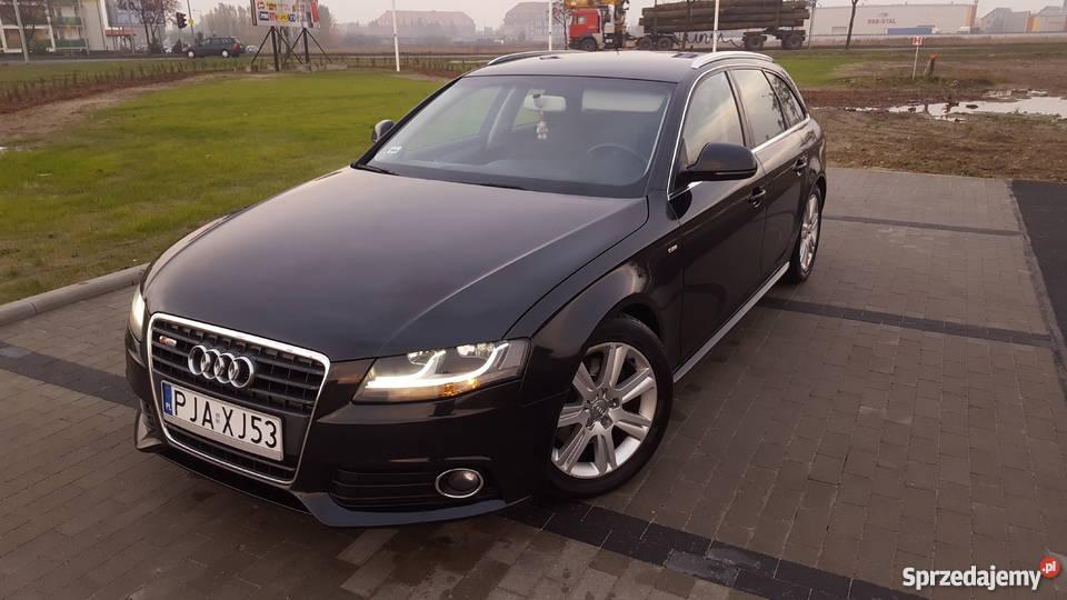 Audi A4 B8 143 Km Pakiet S Line Jarocin Sprzedajemypl