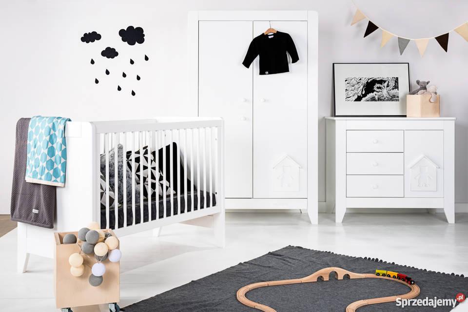 Ogromnie Białe meble NOUKY dla dzieci, do pokoju niemowlaka Noukie's ZU05