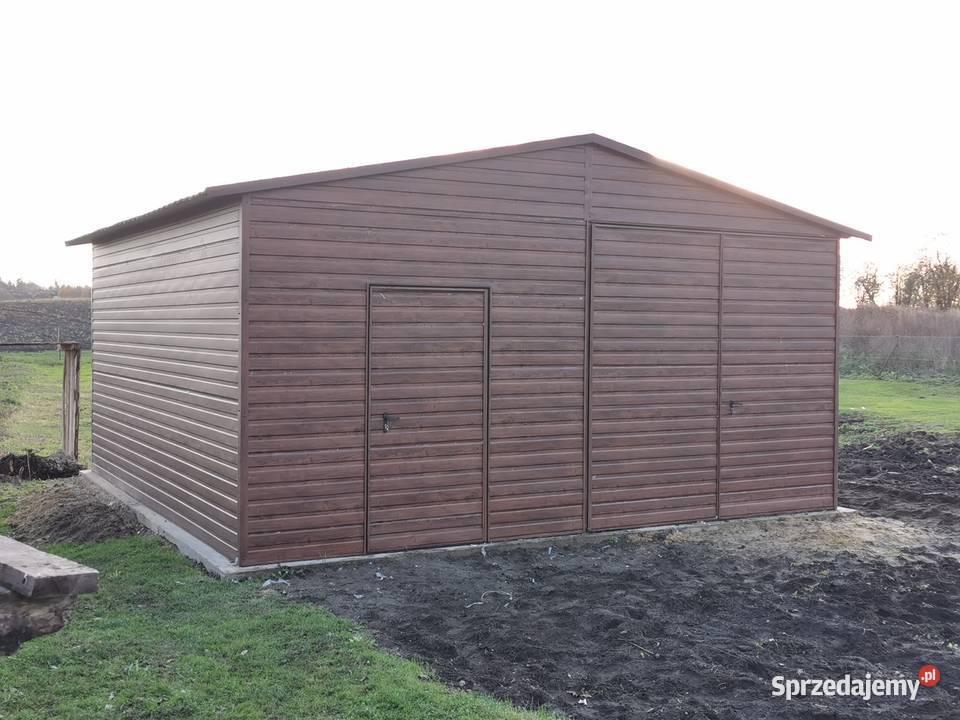 garaż drewnopodobny blaszak KAŻDY wymiar 3x5 4x5 4x6 5x6 6x5