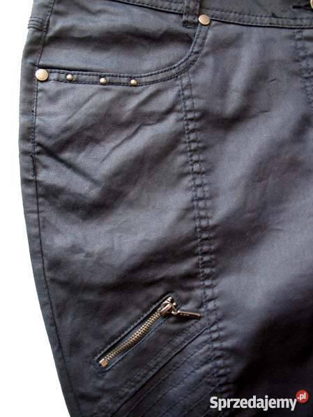 RURKI SPODNIE DAMSKIE JEANS CIENKIE 44 biodra Spodnie sprzedam