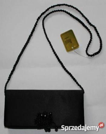 81af1da32a29e Torebka wieczorowa czarna torebki kopertówka Dla kobiet Torby i torebki  Moda i Styl Koszalin