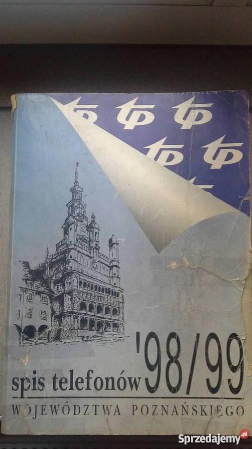 Genialny Książka Telefoniczna 98/99 Województwa Poznańskiego - Sprzedajemy.pl UG79