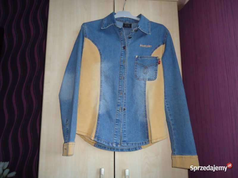 Koszula Jeansowa Wrangler Oryginał 100% . Nowa  MSjFh