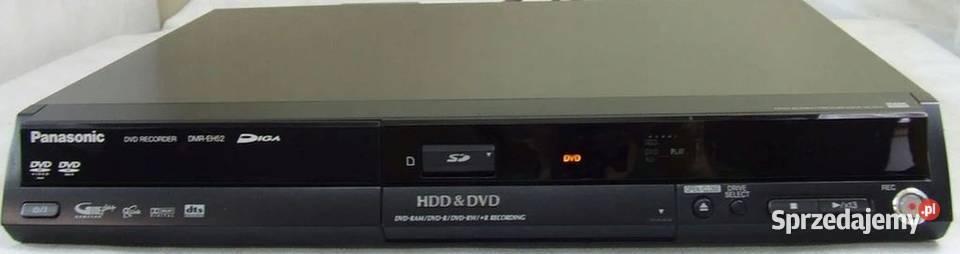 Nagrywarka DVD z HDD Panasonic DMR-EH52 Sprawna