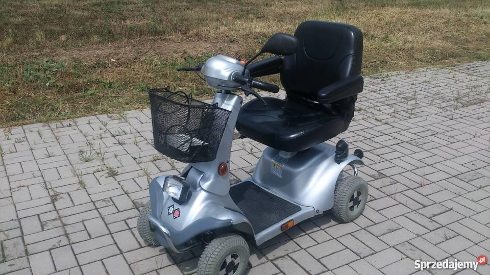 Wózek skuter inwalidzki w stanie BB czterokołowy Syców