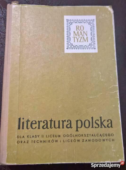 Romantyzm AKowalczykowa tradycyjny podręcznik Wrocław sprzedam