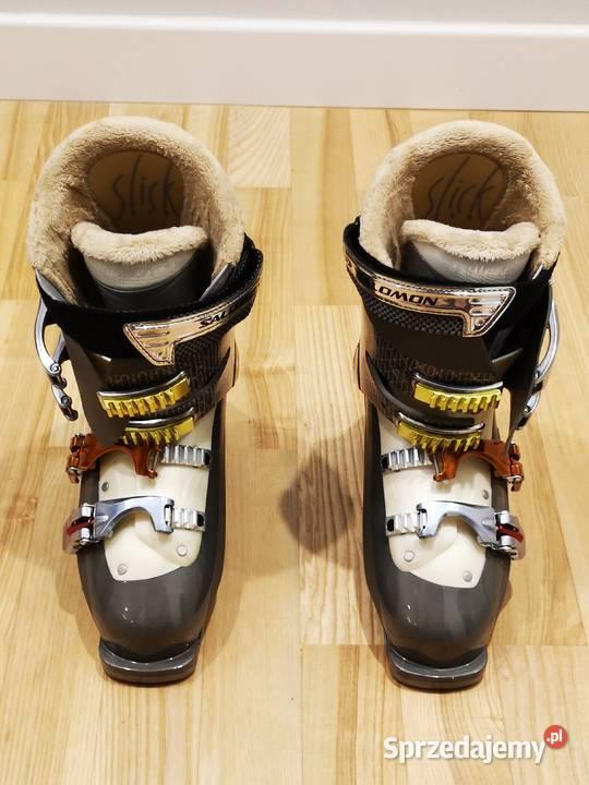 SALOMON buty narciarskie damskie w stanie idealnym jak nowe,