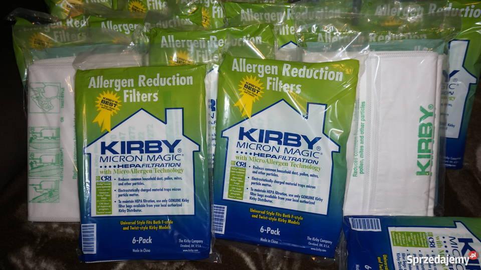 KIRBY Oryginalne worki Hepa Micro Allergen Warszawa
