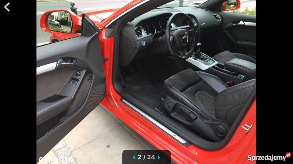 Audi A5 Sline Coupe Super Stan i wygląd Idealny elektryczne lusterka