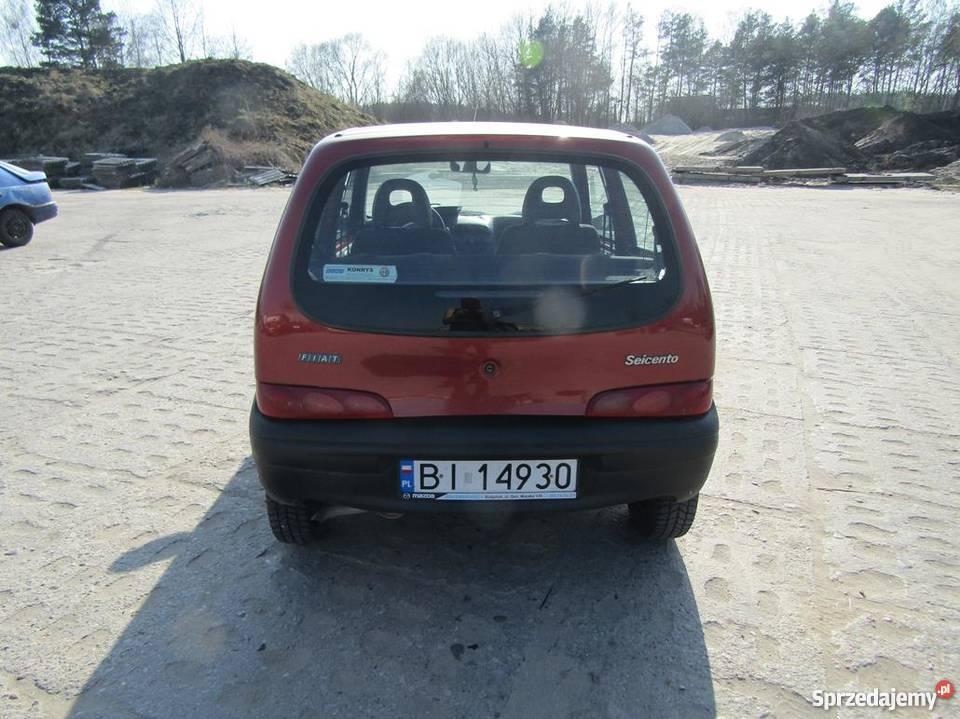 Fiat Seicento 899 Hatchback Białystok sprzedam