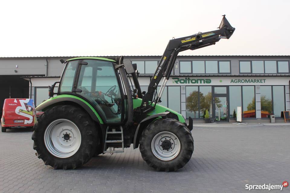Ciągnik rolniczy Deutz Fahr Agrotron 85 z WOM 540/1000 obr. Sokoły