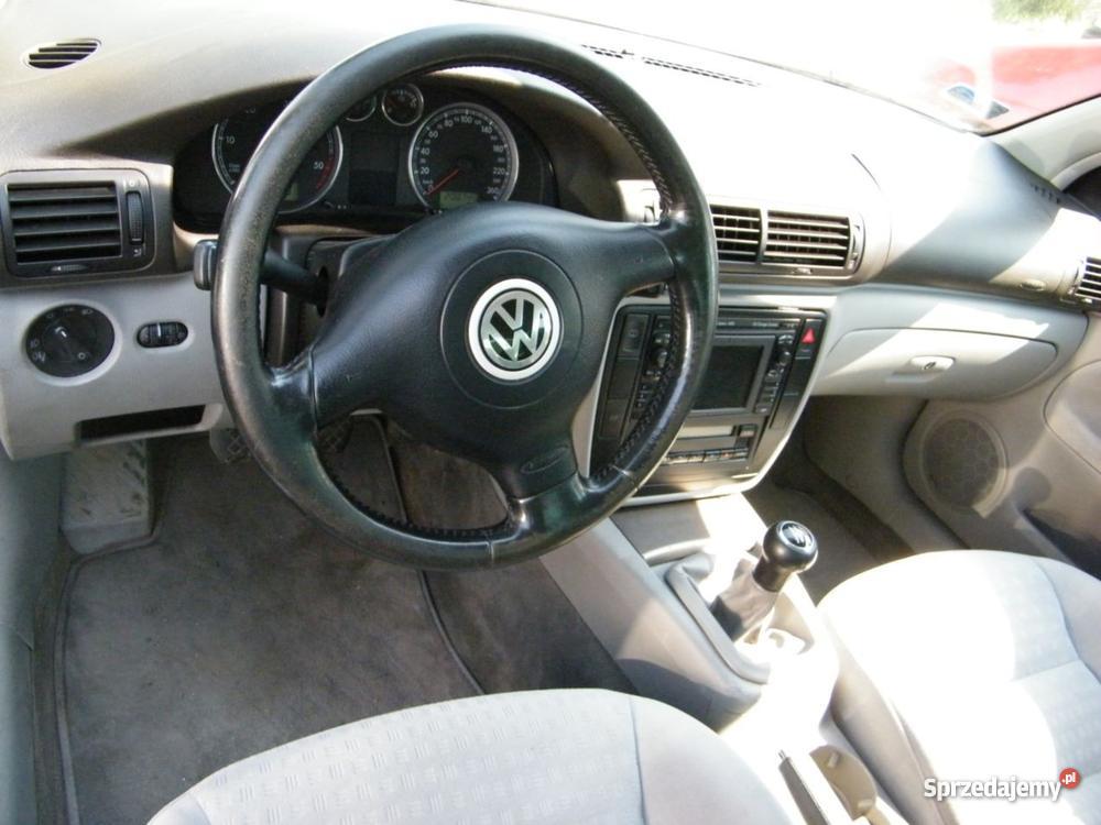 Volkswagen Passat 19 TDI produkcji 2002 mazowieckie Płock