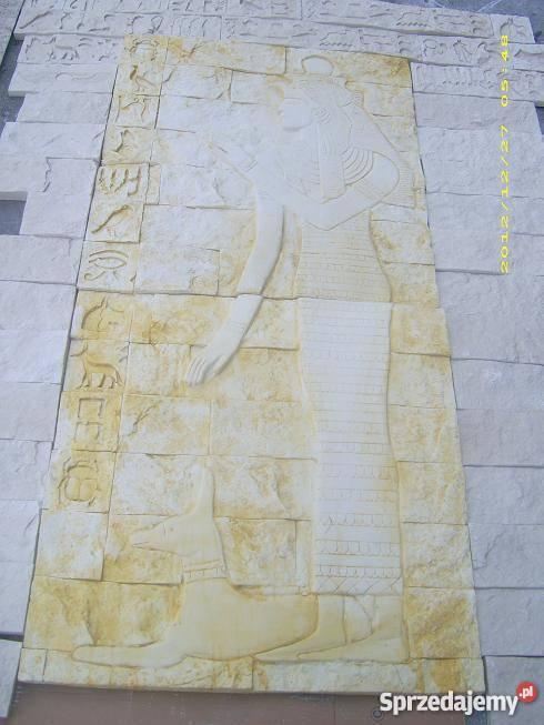 płaskorzezba egipska rzezba sztukateria gipsowa Warszawa