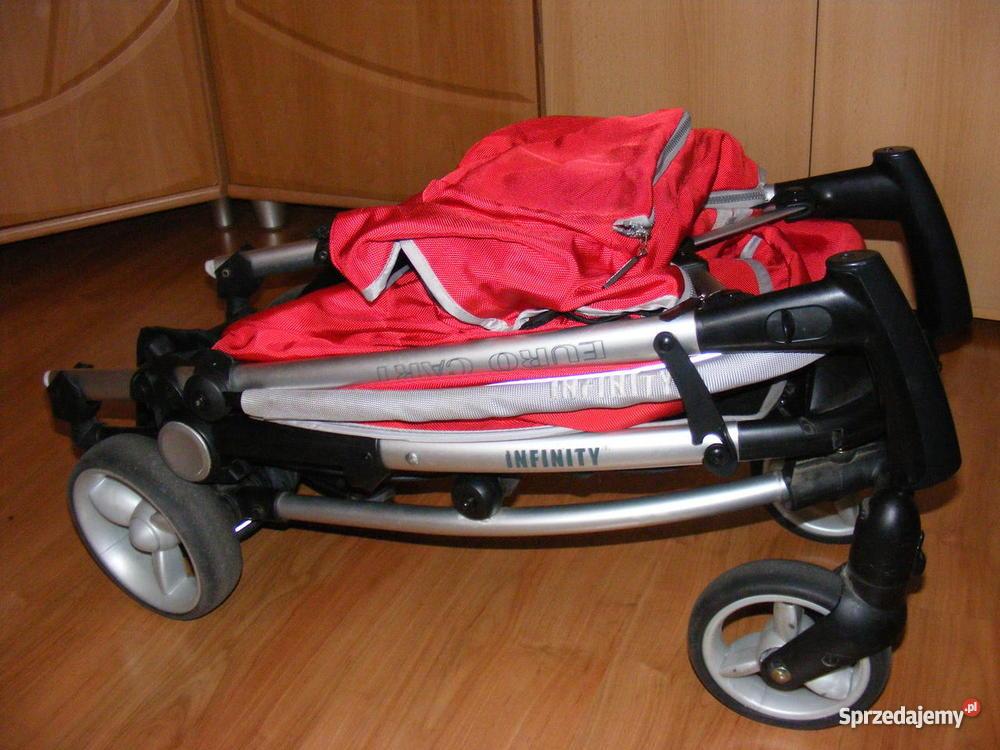 Wózek Spacerowy EuroCart Lira 4 RED śląskie Częstochowa