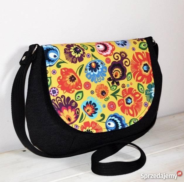 8ed9bb96ad897 kolorowe folkowe torebki listonoszki Posada - Sprzedajemy.pl