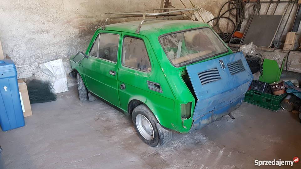 Sprzedam fiat 126p Maluch fsm komfort 1977 benzyna 126 Daszyna